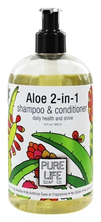 Zoom View - Aloe 2-in-1 Shampoo & Conditioner