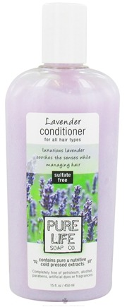 DROPPED: Pure Life Soap Co. - Conditioner Lavender - 15 oz. CLEARANCE PRICED