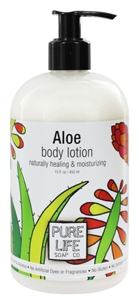 Pure Life Soap Co. - Body Lotion Aloe - 15 oz.