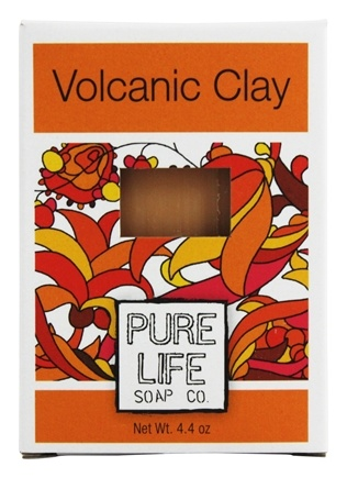 Pure Life Soap Co. - Bar Soap Volcanic Clay - 4.4 oz.