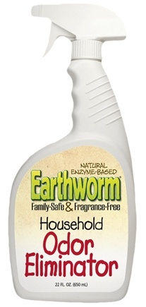 DROPPED: Earthworm - Household Odor Eliminator Family Safe and Fragrance Free - 22 oz. CLEARANCE PRICED