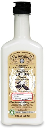 DROPPED: JR Watkins - Naturals Apothecary Hand & Body Lotion Vanilla - 11 oz.