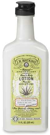 JR Watkins - Naturals Apothecary Hand & Body Lotion Aloe & Green Tea - 11 oz.