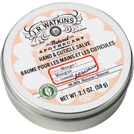 DROPPED: JR Watkins - Natural Apothecary Hand & Cuticle Salve Mango - 2.1 oz. CLEARANCE PRICED