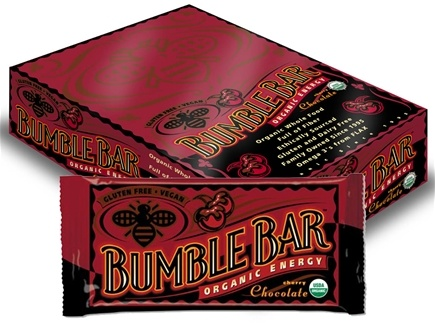 DROPPED: Bumble Bar - Organic Energy Bar Cherry Chocolate - 1.4 oz. CLEARANCE PRICED