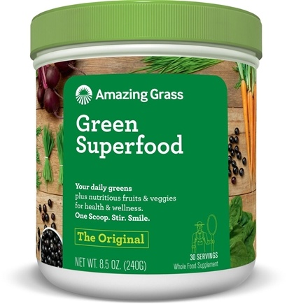 Zoom View - Green SuperFood All Natural Drink Powder 30 Servings
