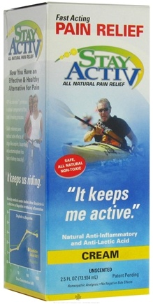 Zoom View - Stay ActiV Fast Acting Pain Relief Cream