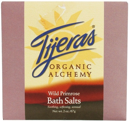 DROPPED: Tijeras Organic Alchemy - Bath Salts Wild Primrose - 2 oz. CLEARANCE PRICED