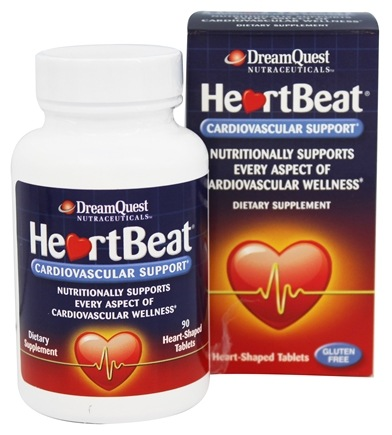 DROPPED: Dream Quest Nutraceuticals - HeartBeat Cardiovascular Support - 90 Tablets