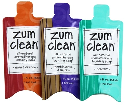 Indigo Wild - Zum Clean Laundry Sample 3-Pack