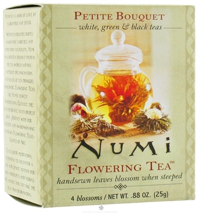 DROPPED: Numi Organic - Flowering Tea Petite Assorted  Bouquet - 4 Blossoms
