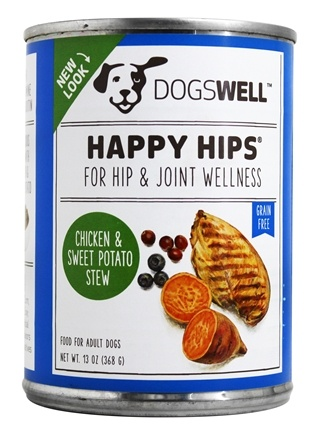 Dogswell - Happy Hips Chicken & Sweet Potato Stew Recipe - 13 oz.