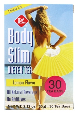 Uncle Lee's Tea - Body Slim Dieter Tea Lemon Flavor - 30 Tea Bags