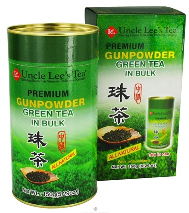 Zoom View - Premium Gunpowder Green Tea Bulk