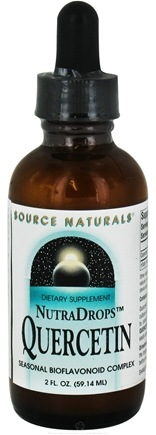 DROPPED: Source Naturals - NutraDrops Quercetin Seasonal Bioflavonoid Complex - 2 oz. CLEARANCE PRICED