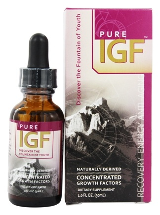 Pure Solutions - Pure IGF Concentrated Growth Factors Deer Velvet Antler Extract 5 mg. - 1 oz.