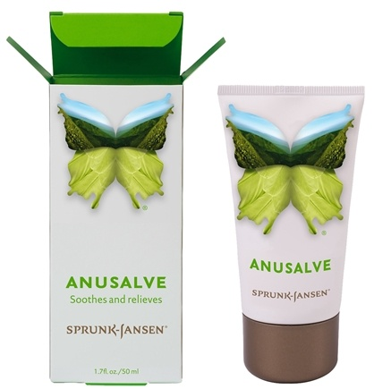 DROPPED: Sprunk-Jansen - Anusalve Soothes And Relieves - 1.7 oz.
