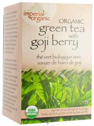 Zoom View - Imperial Organic Green Tea with Goji Berry