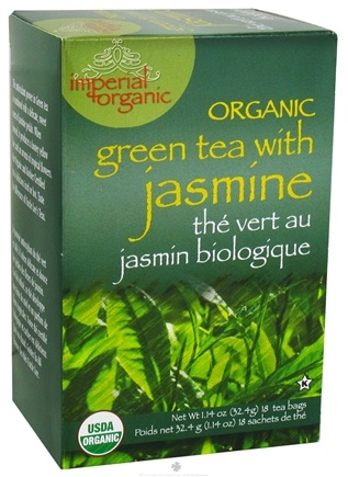 DROPPED: Uncle Lee's Tea - Imperial Organic Green Tea with Jasmine - 18 Tea Bags CLEARANCE PRICED