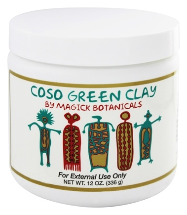 Magick Botanicals - Coso Green Clay - 12 oz.
