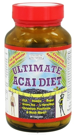DROPPED: Only Natural - Ultimate Acai Diet - 90 Capsules