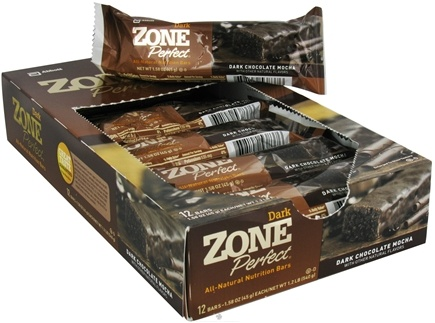 DROPPED: Zone Perfect - All-Natural Nutrition Bar Dark Chocolate Mocha - 1.58 oz. CLEARANCE PRICED