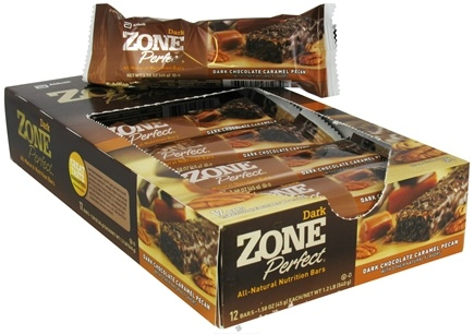 DROPPED: Zone Perfect - All-Natural Nutrition Bar Dark Chocolate Caramel Pecan - 1.58 oz.