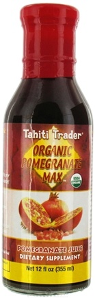 DROPPED: Tahiti Trader - Organic Pomegranate Max Pomegranate Juice - 12 oz.