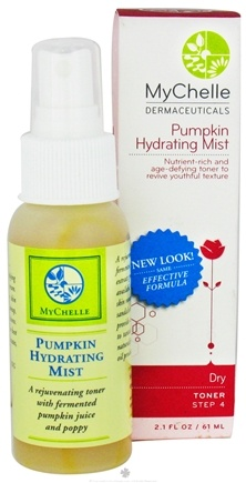 DROPPED: MyChelle Dermaceuticals - Pumpkin Hydrating Mist For Dry/Mature Skin - 2.1 oz.