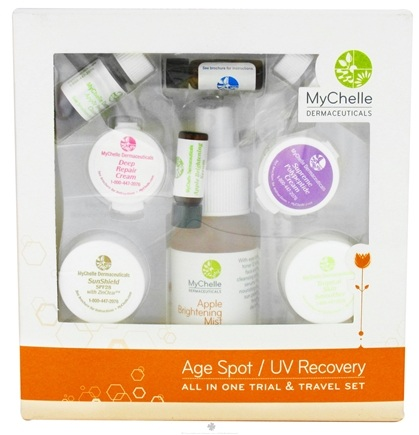 DROPPED: MyChelle Dermaceuticals - All In One Travel And Gift Set For Sun Damaged Skin - CLEARANCE PRICED
