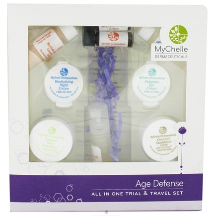 DROPPED: MyChelle Dermaceuticals - All In One Travel And Gift Set Anti-Aging Boot Camp - CLEARANCE PRICED