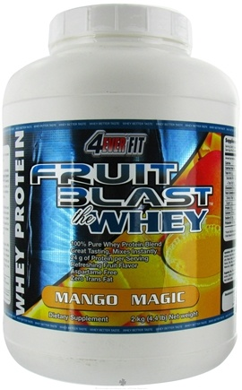 DROPPED: 4Ever Fit - Fruit Blast Whey Protein Mango Magic - 4.4 lbs.