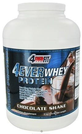 DROPPED: 4Ever Fit - 4Ever Whey Protein Chocolate Shake - 4.4 lbs. CLEARANCE PRICED