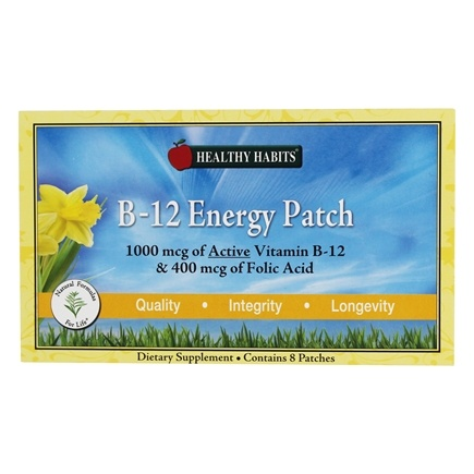Zoom View - B-12 Energy Patch