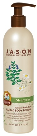 DROPPED: Jason Natural Products - Hand & Body Lotion Sleepytime - 12 oz.