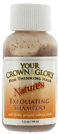 DROPPED: Your Crown and Glory - Nature's Exfoliating Shampoo Trial Size - 1.5 oz. CLEARANCE PRICED