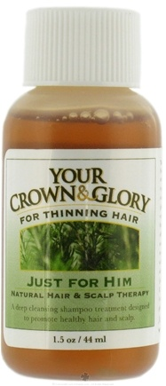 DROPPED: Your Crown and Glory - Just For Him Natural Hair and Scalp Therapy Trial Size - 1.5 oz. CLEARANCE PRICED