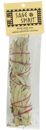 DROPPED: Sage Spirit - Smudge Wand Large White Sage - 6 in. CLEARANCE PRICED