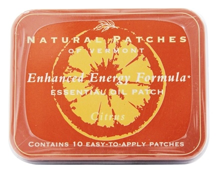 Zoom View - Aromatherapy Body Patch Essential Oil Blend