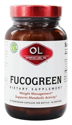 DROPPED: Olympian Labs - FucoGreen - 90 Vegetarian Capsules Contains Brown Seaweed
