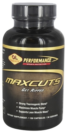 Zoom View - MaxCuts Ultimate Pump/Ripping Formula