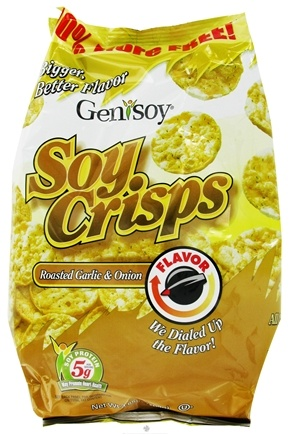 Zoom View - Soy Crisps Naturally Flavored
