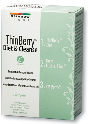 DROPPED: Rainbow Light - ThinBerry Diet & Cleanse Kit