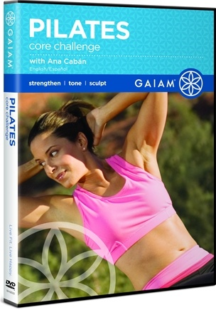 DROPPED: Gaiam - Pilates Core Challenge DVD with Ana Caban - CLEARANCE PRICED