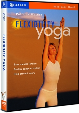 DROPPED: Gaiam - Flexibility Yoga DVD with Patricia Walden - CLEARANCE PRICED