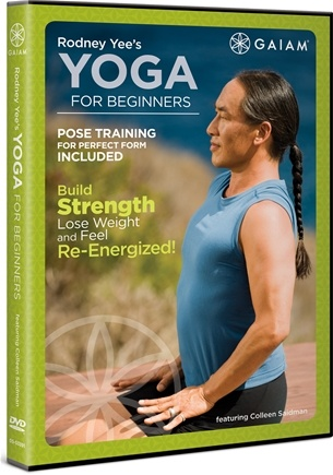 DROPPED: Gaiam - Rodney Yee's Yoga For Beginners DVD