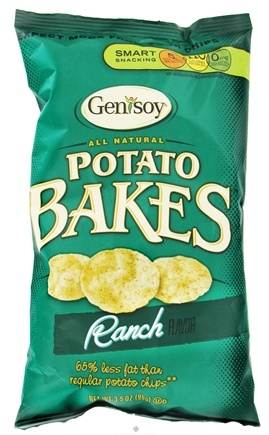 DROPPED: Genisoy - Potato Bakes All Natural Ranch - 3.5 oz. CLEARANCE PRICED