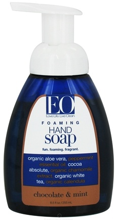 DROPPED: EO Products - Foaming Hand Soap Chocolate & Mint - 8.5 oz.