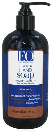 DROPPED: EO Products - Liquid Hand Soap Chocolate & Mint - 12 oz.