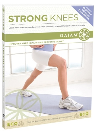 DROPPED: Gaiam - Strong Knees DVD - CLEARANCE PRICED